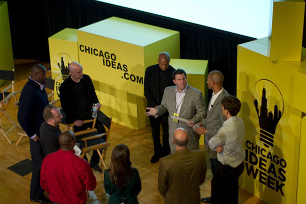 Jeff at Chicago Ideas Week